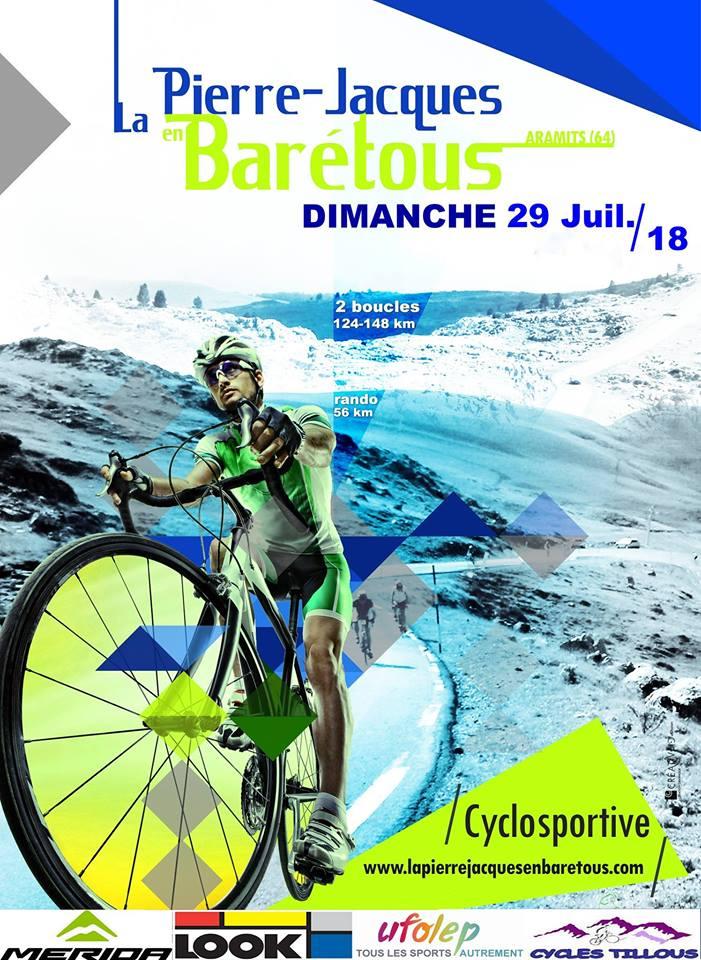 """Cyclosportive """"La Pierre-Jacques en Barétous"""""""