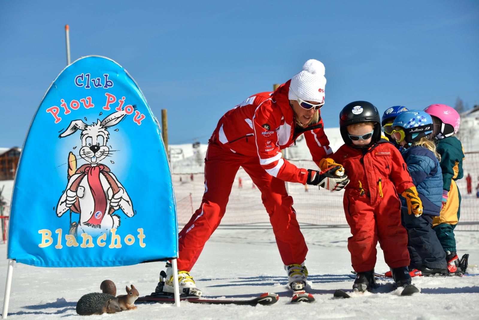 Club des Piou-Piou- Ecole du Ski Français  Les Piou Piou © ESF