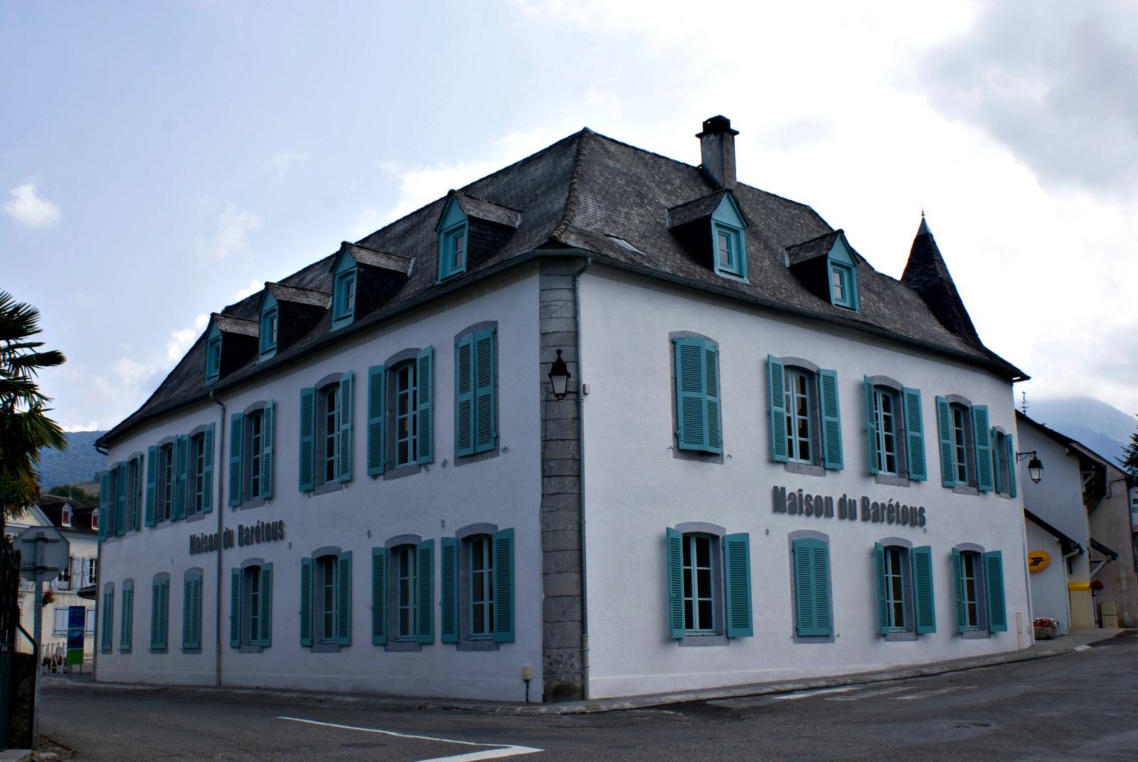 La Maison du Barétous  Maison du Barétous - Façade © Mairie Arette