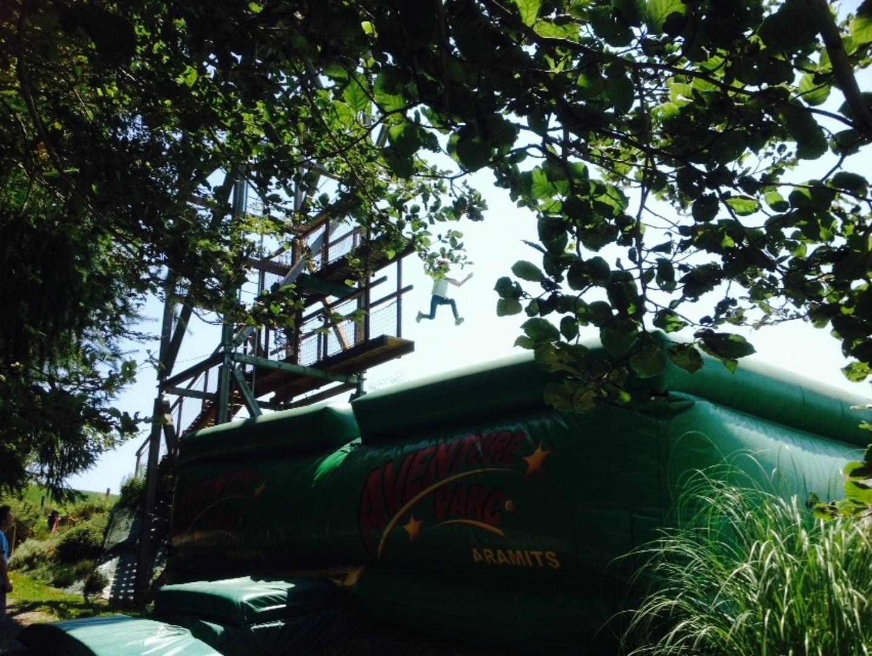 aventure-parc-air-bag-aramits-pau-64 © aventure parc aramits