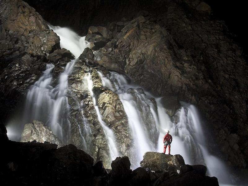 Grotte de La Verna  cascade sergio laburu © sas la verna