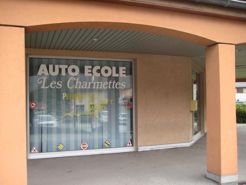Auto Ecole Les Charmettes © OT Canton de La Chambre