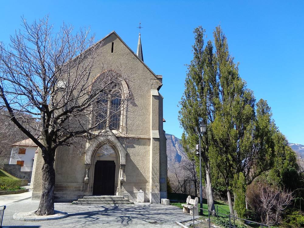 Eglise de Villargondran © Communauté de Communes Cœur de Maurienne Arvan