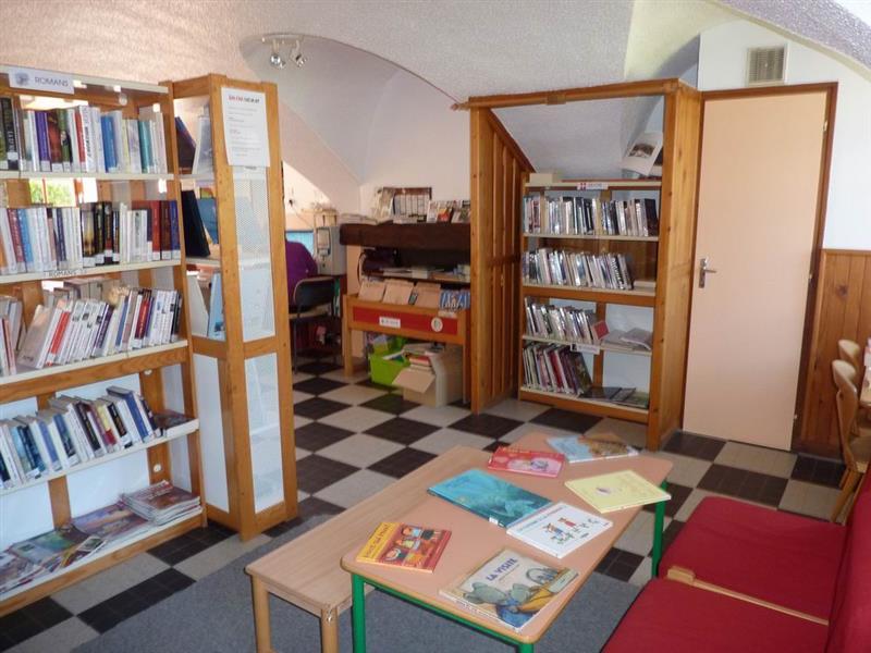 Bibliothèque Ste Marie de Cuines © Mairie de Ste Marie de Cuines