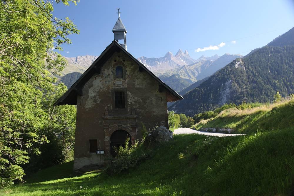 chapelle des Villards © OT La Toussuire