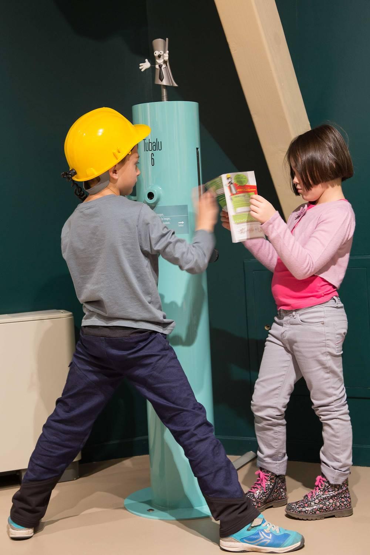 Parcours de découverte pour les enfants de 7 à 12 ans © Imago - Espace Alu