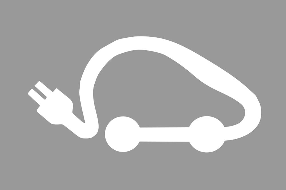Borne voiture électrique ©