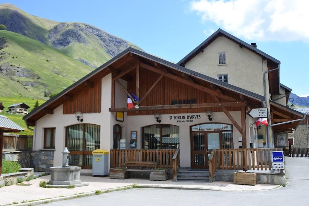 Mairie de Saint-Sorlin-d'Arves © Communauté de Communes Cœur de Maurienne Arvan