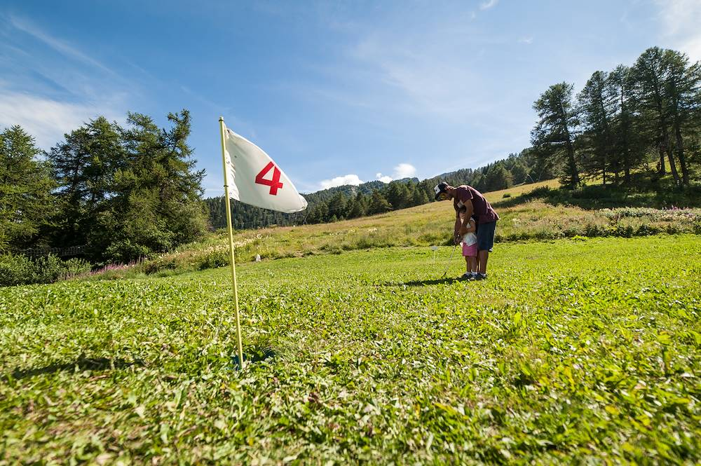 Country golf les Karellis © Alban Pernet