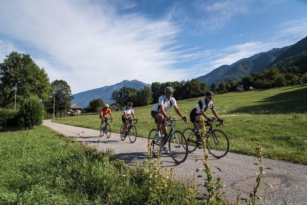Cyclo Maurienne © Alban Pernet - Maurienne Tourisme