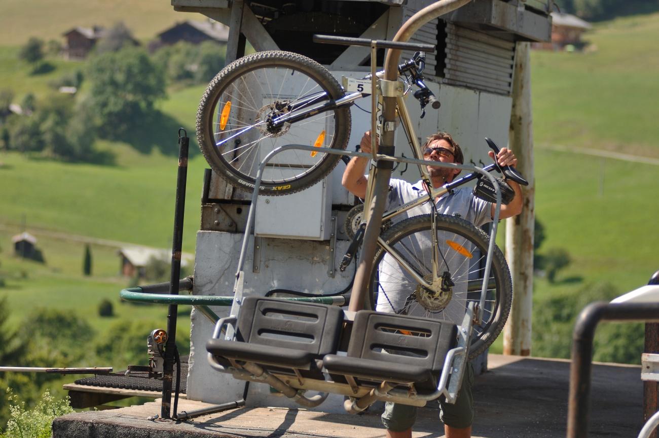 Enduro Plan Désert © Office de Tourisme du Val d'Arly