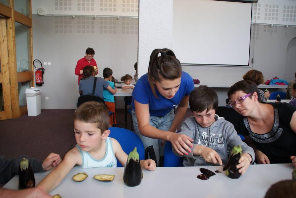 atelier avec les enfants © OT Toussuire