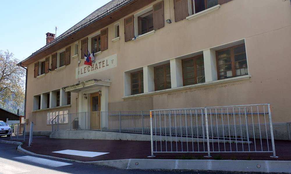 Mairie de Le Chatel © Communauté de Communes Cœur de Maurienne Arvan
