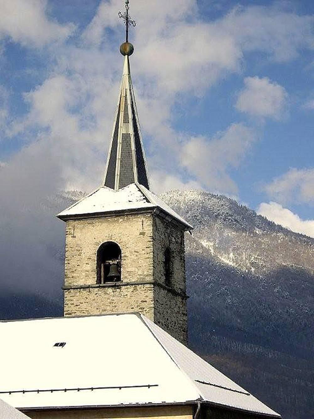 Le clocher © Mairie de la Chapelle