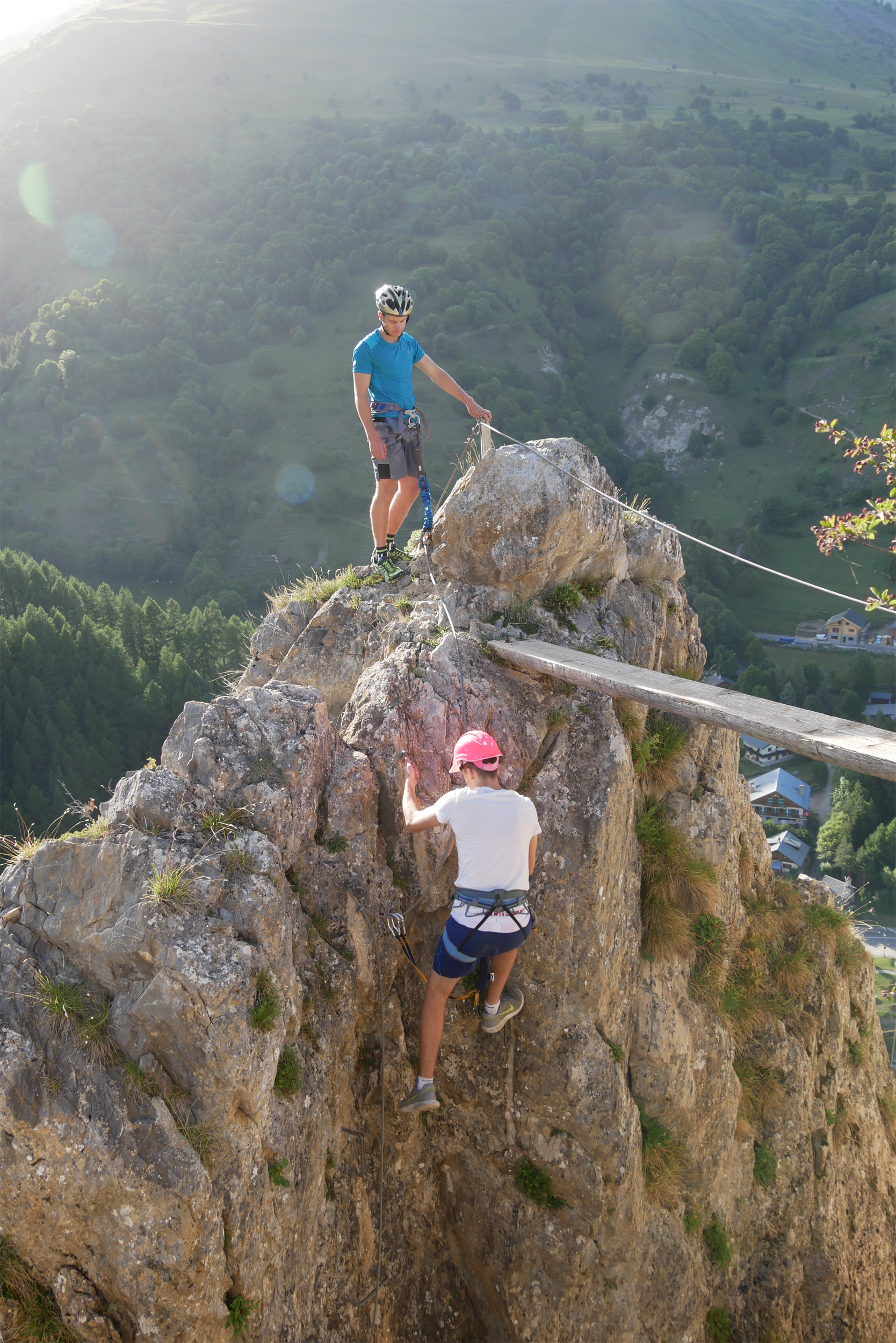 Climbing and Via Ferrata areas © Ot Valloire