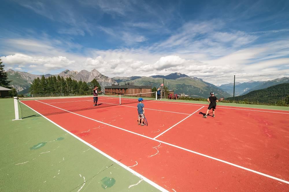 Tennis les Karellis © Alban Pernet