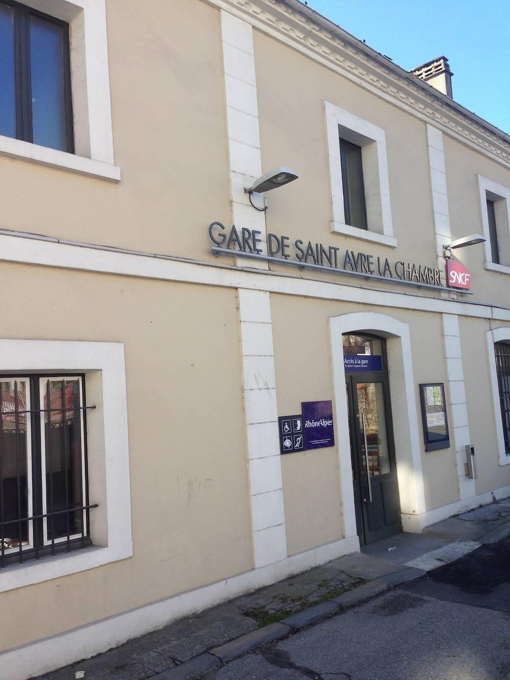Gare SNCF St Avre/La Chambre © Anaïs TRONEL