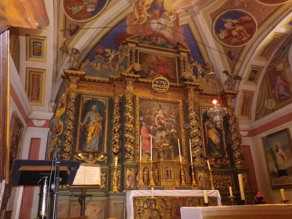 Eglise Saint-Saturnin de Saint-Sorlin-d'Arves © office de tourisme St-Jean-d'Arves