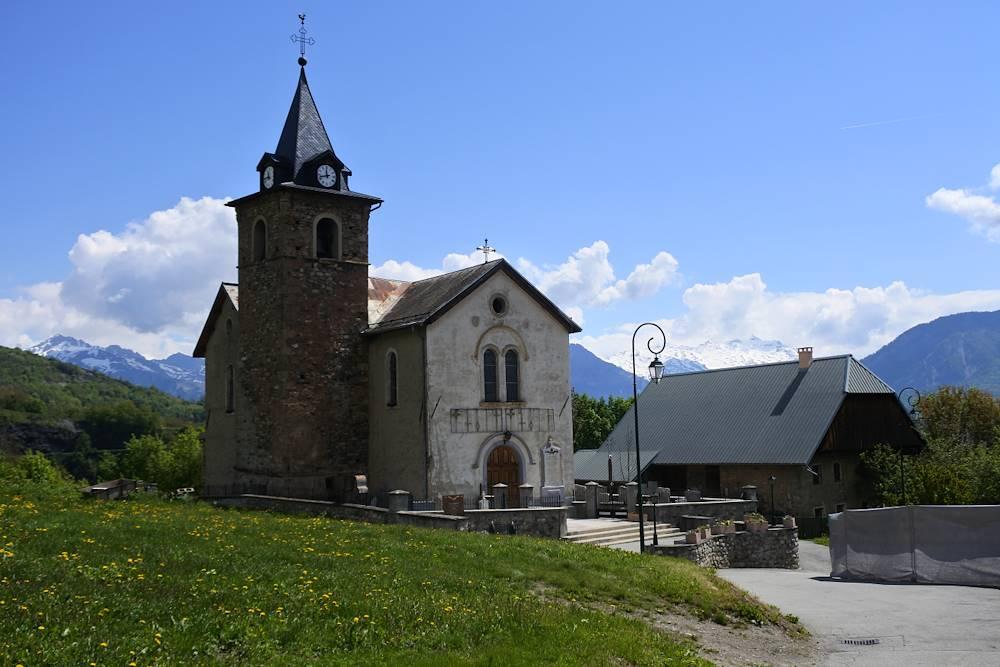 Eglise de Villarembert-Le Corbier © Communauté de Communes Cœur de Maurienne Arvan