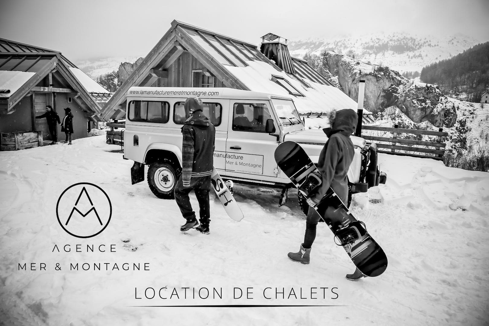 Agence Mer & Montagne - Location / Vente / Conciergerie de Chalets & Appartements © Agence Mer & Montagne