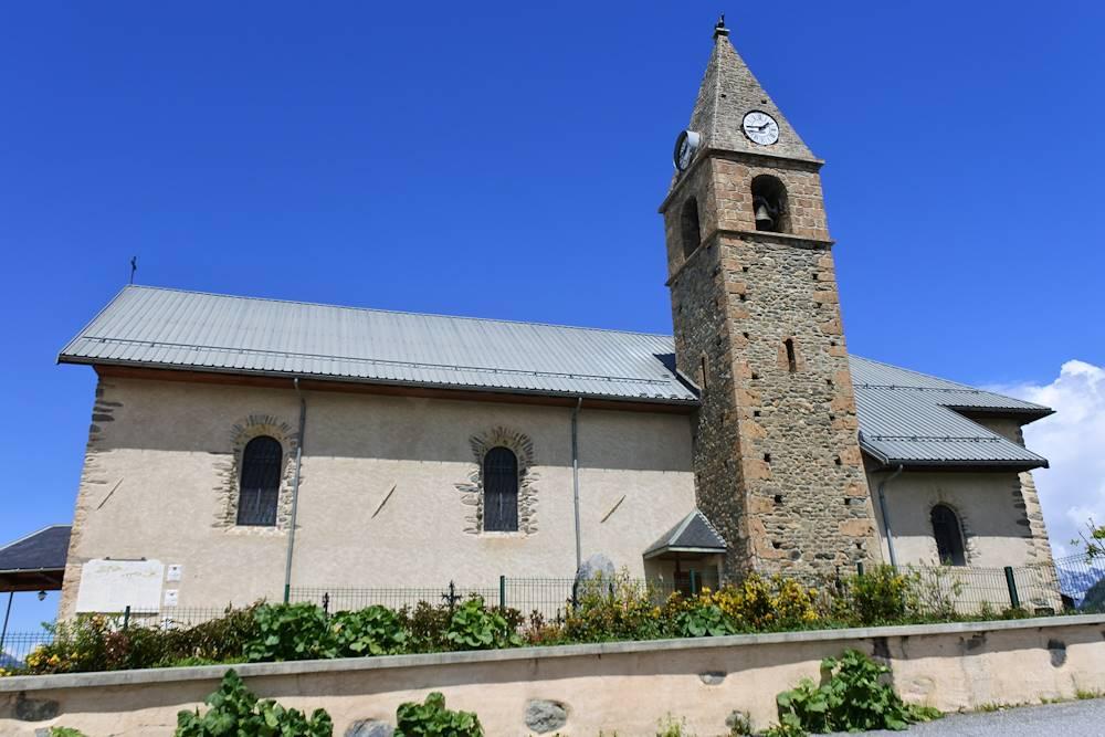 Eglise d'Albiez-Montrond © Communauté de Communes Cœur de Maurienne Arvan