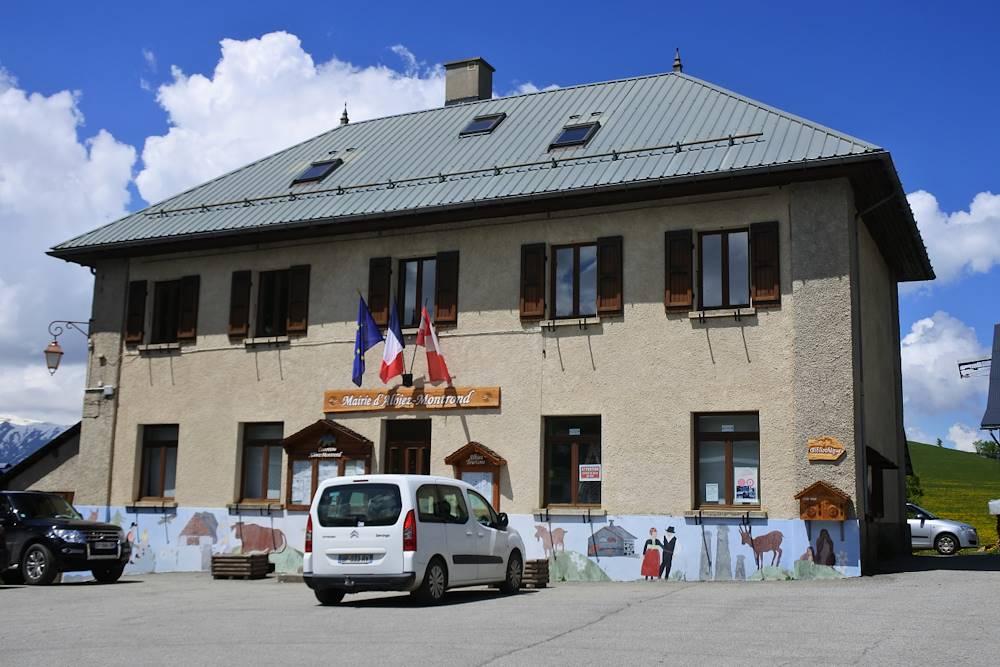 Mairie d'Albiez-Montrond © Communauté de Communes Cœur de Maurienne Arvan
