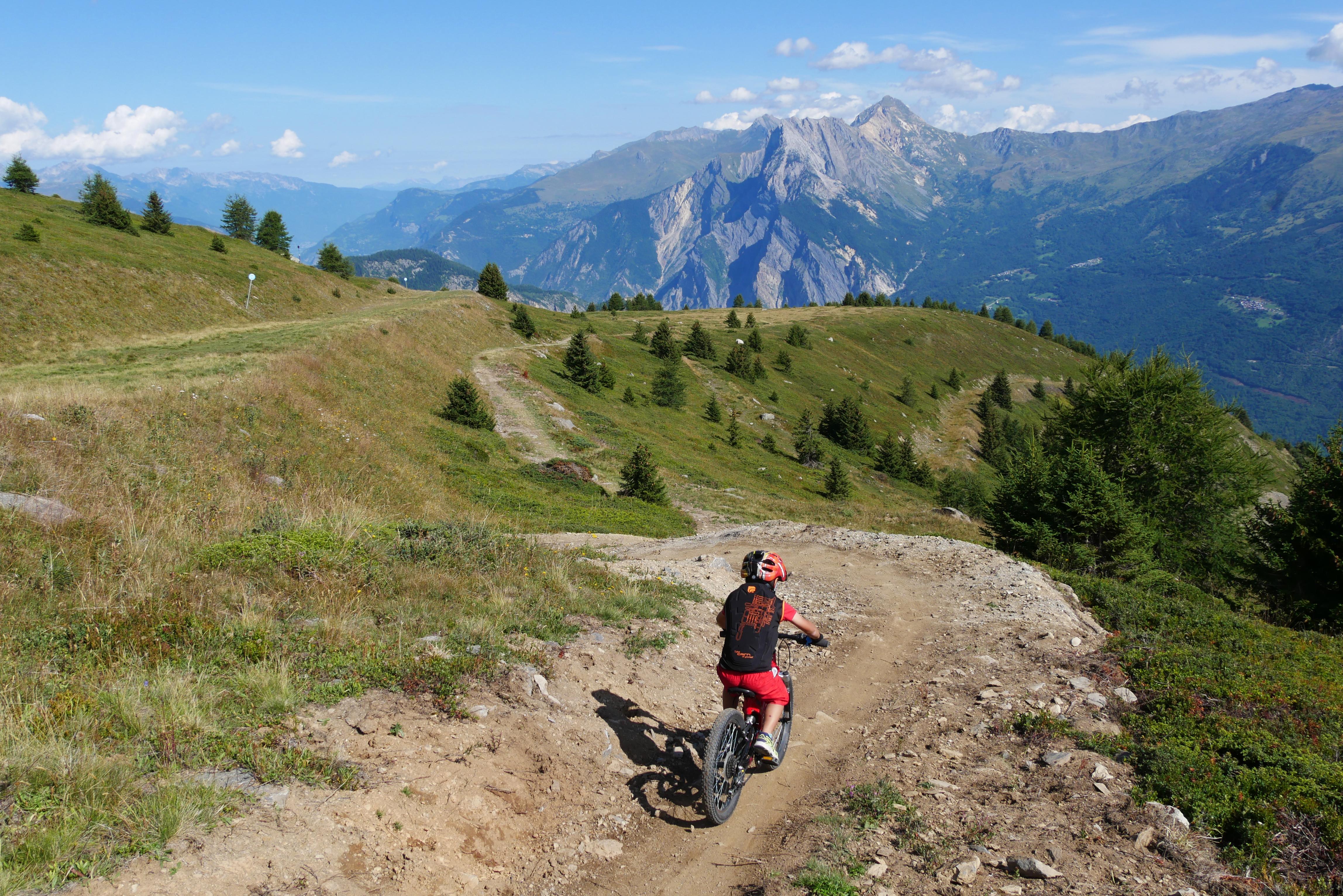 Bike Park Valloire Galibier © Xavier Aury / Valloire Tourisme