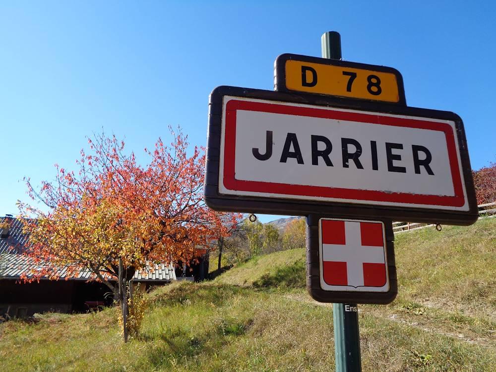 Jarrier Panneau © Communauté de Communes Cœur de Maurienne Arvan
