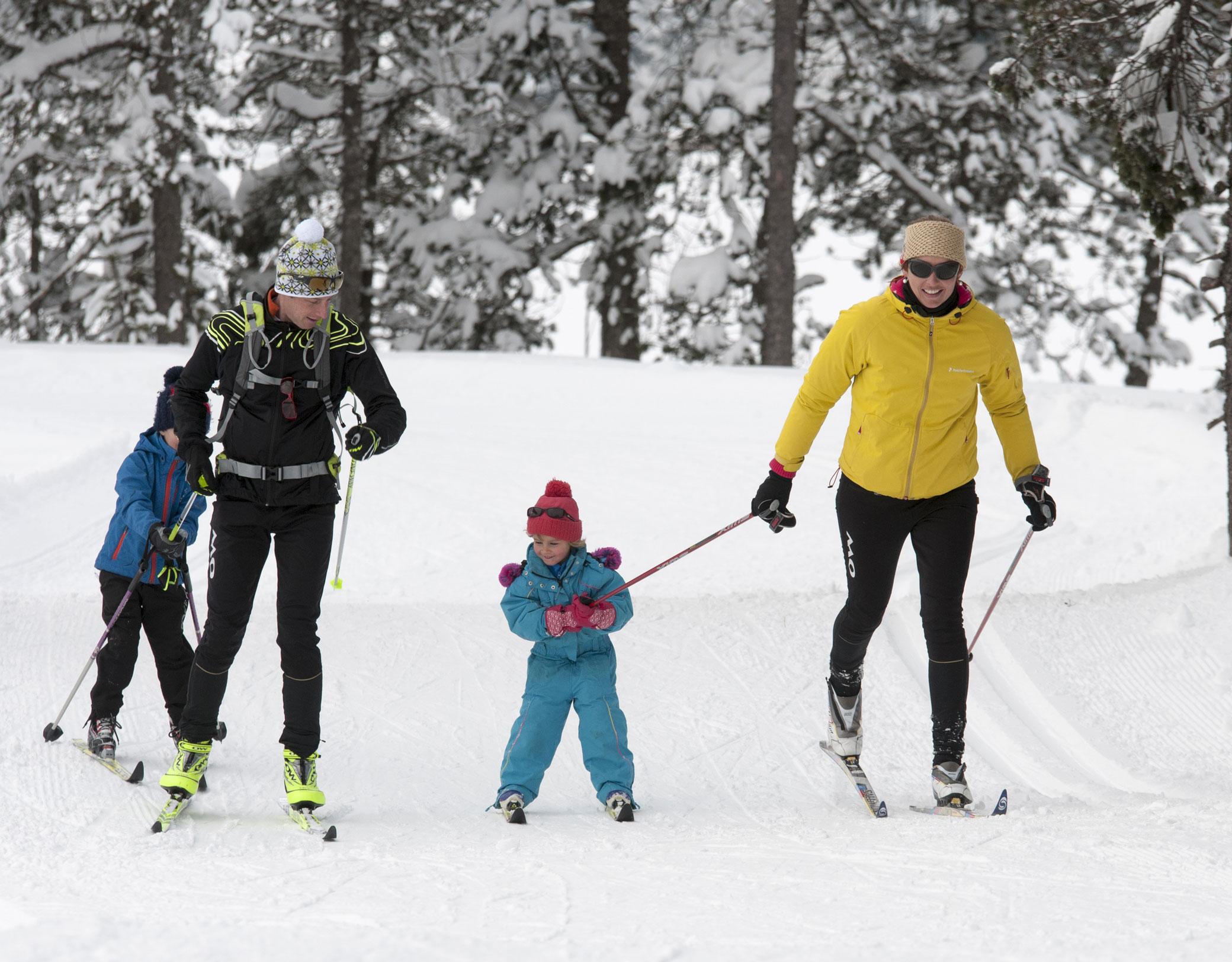 Seythenex Val de Tamié ski nordique © Benjamin Becker