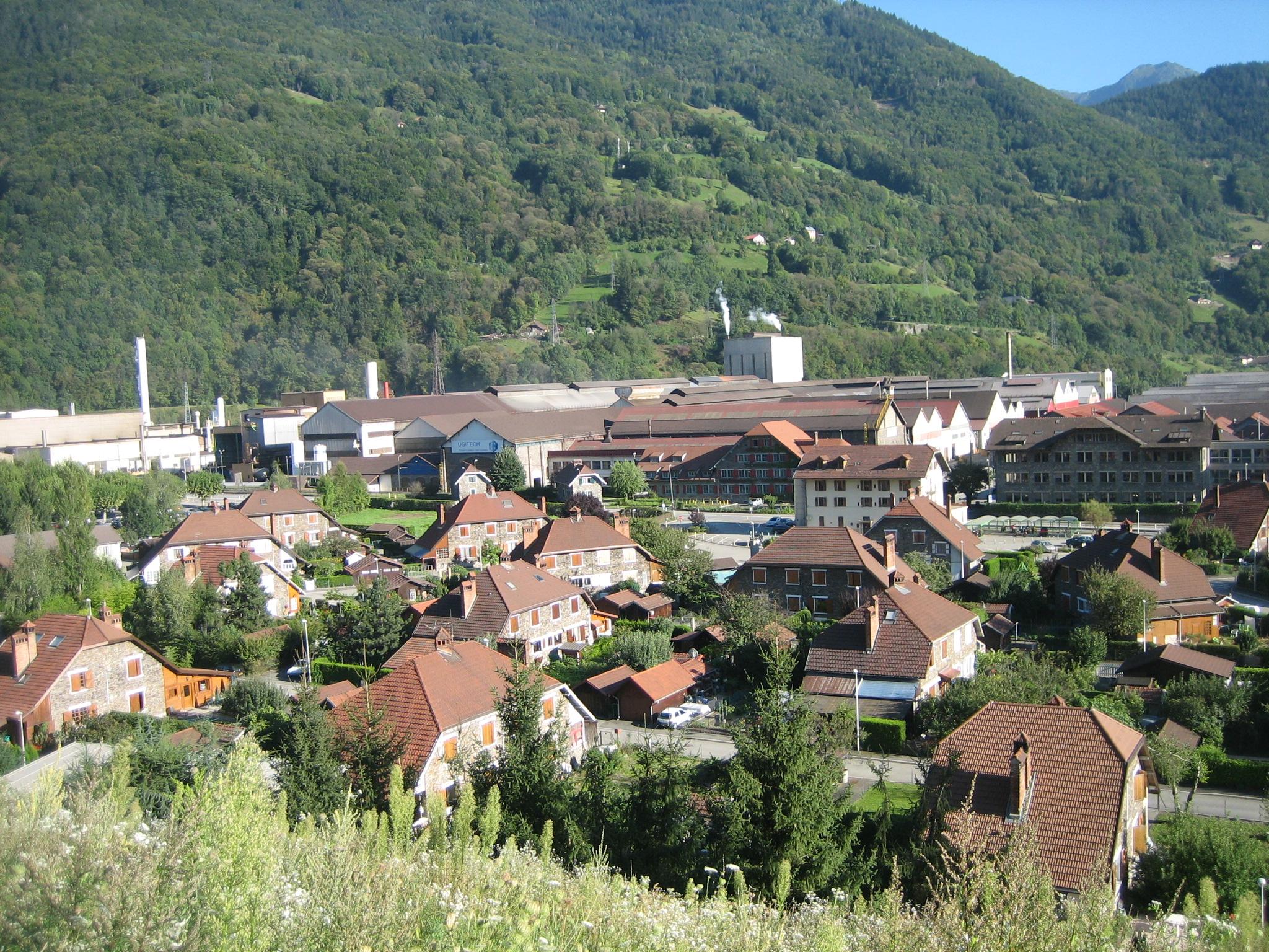 Le Nouveau Village © Office de Tourisme d'Ugine