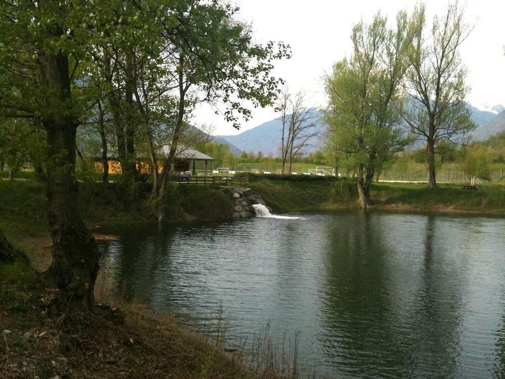 Plan d'eau la corbière © OT Porte de Maurienne