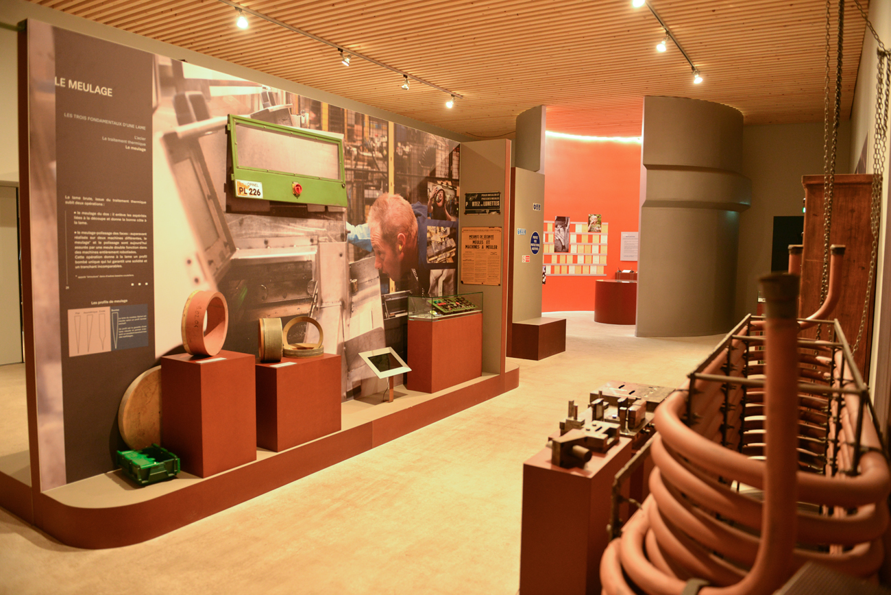 Musée Opinel - Les procédés de fabrication © Pierre Dompnier