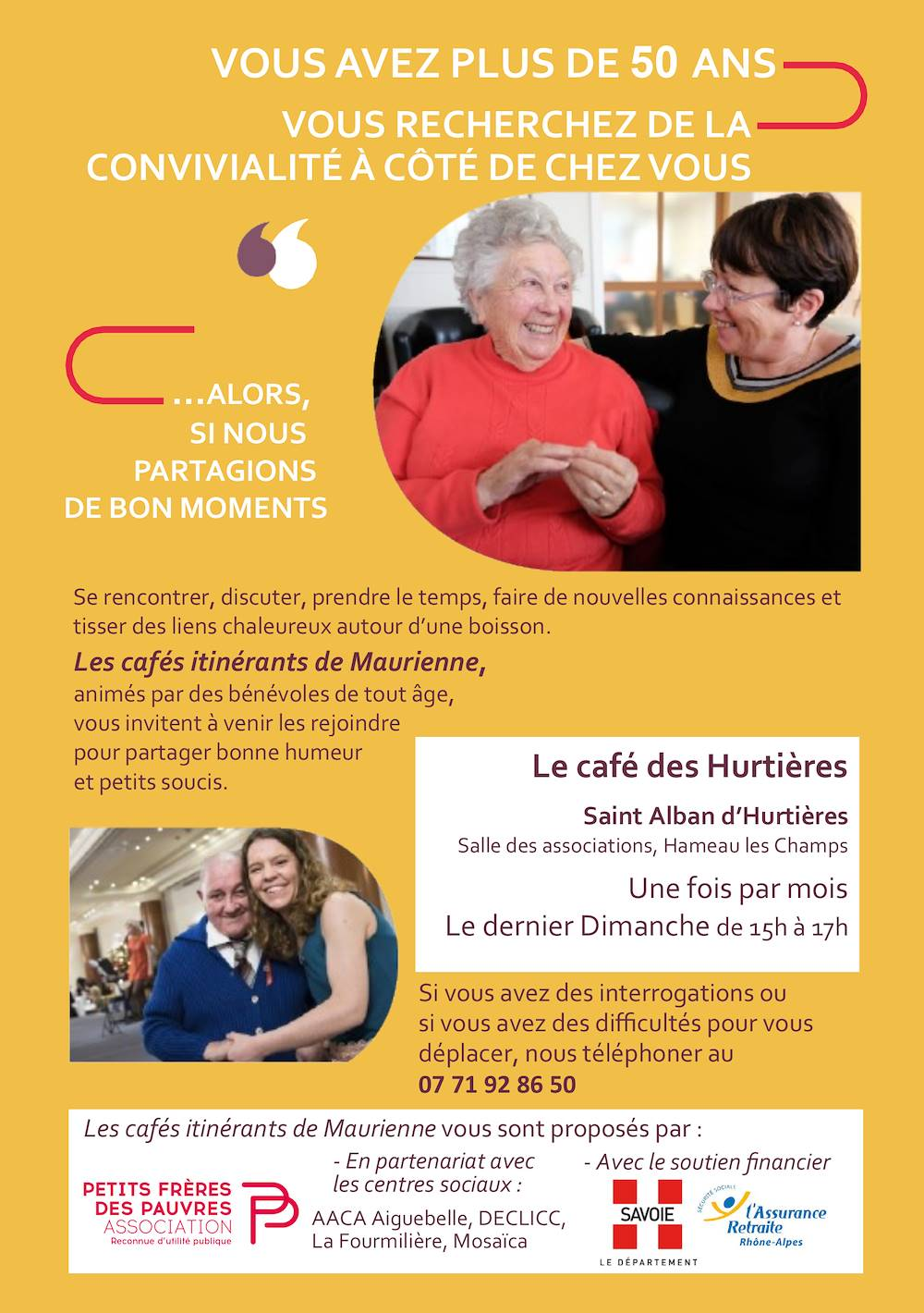 Café itinérant des Hurtières ©