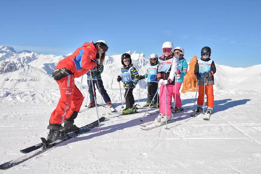 ESF - Cours de ski enfant © ESF / Valloire Tourisme