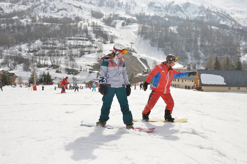 ESF - Cours de Snowboard © ESF / Valloire Tourisme