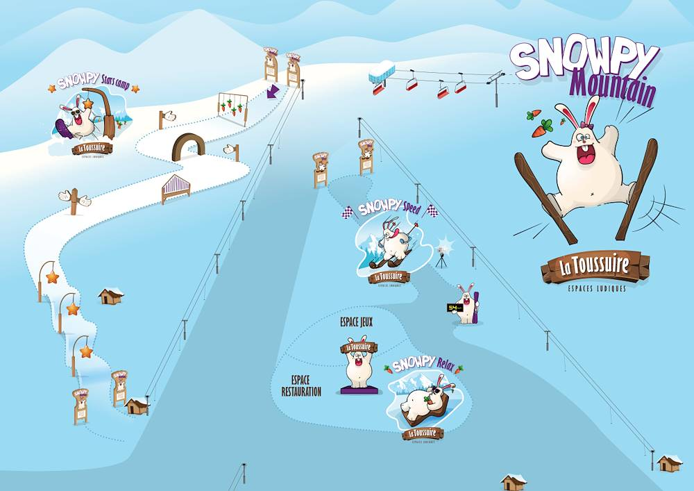 Zone ludique Snowpy Mountain © Soremet