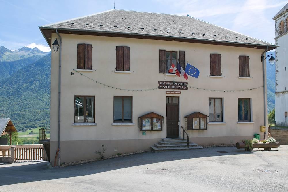 Mairie Saint-Alban-d'Hurtières © OT Porte de Maurienne