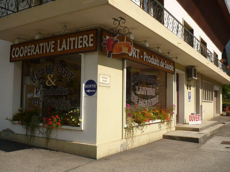 Coopérative Laitière de Moutiers - Antenne d'Ugine © http://www.producteursdesavoie.com/