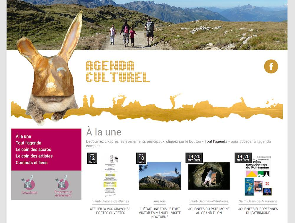 Agenda Culturel Maurienne © Syndicat du Pays de Maurienne