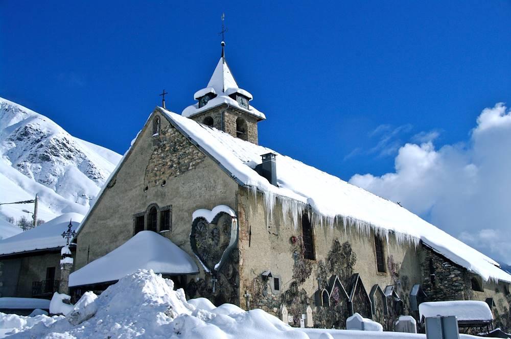 Eglise hiver © Eric Axelrad