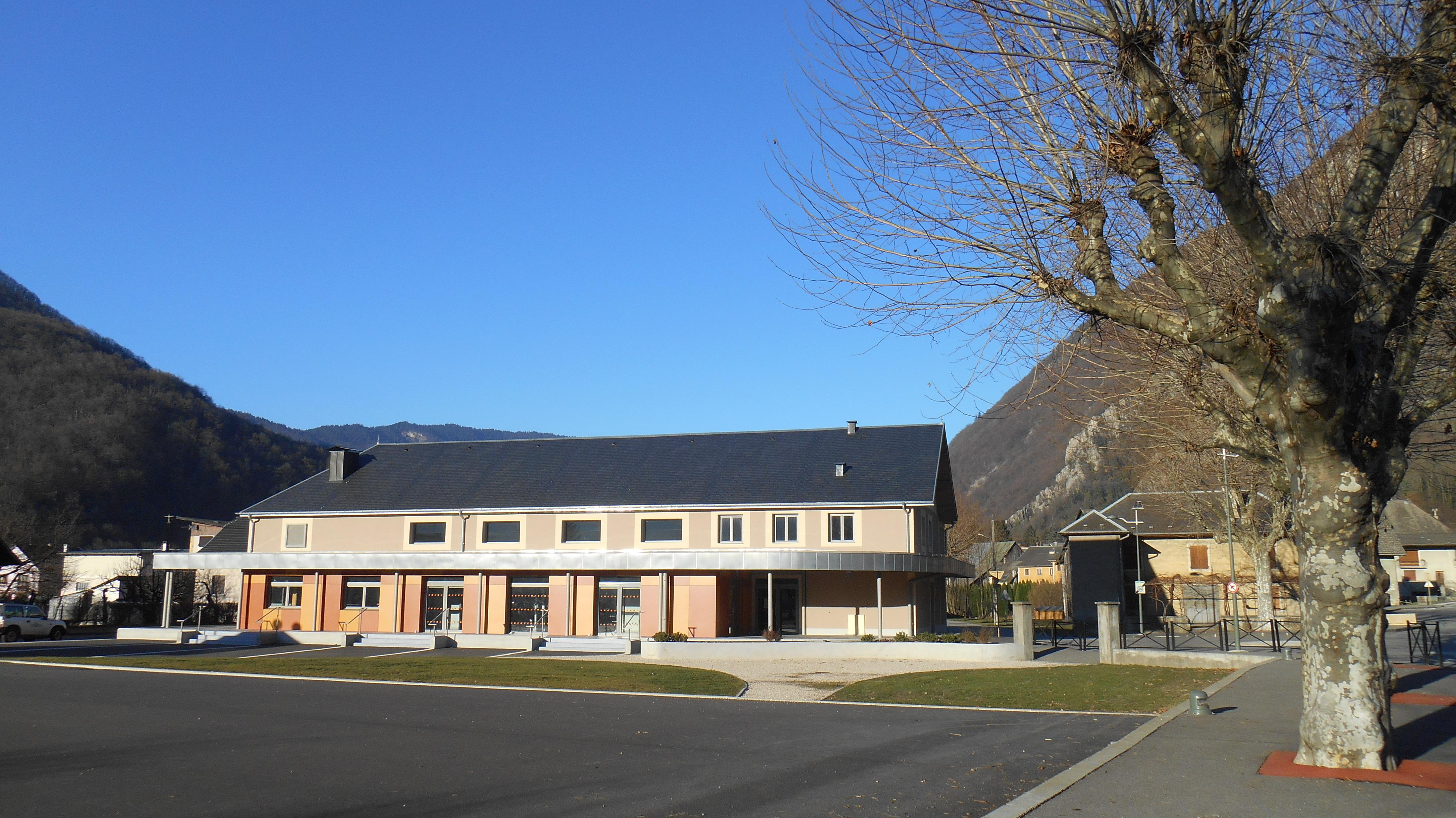Salle des fêtes d'Epierre © OT Porte de Maurienne