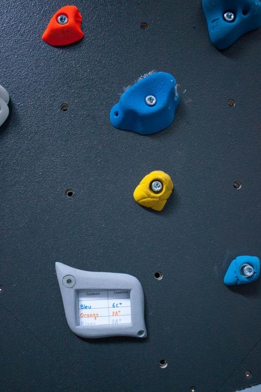 Mur d'escalade © ©MathieuP - CAF Albertville