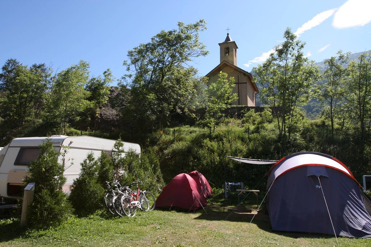 Camping Ste Thècle - été © Pascal Delannoy / Ot Valloire