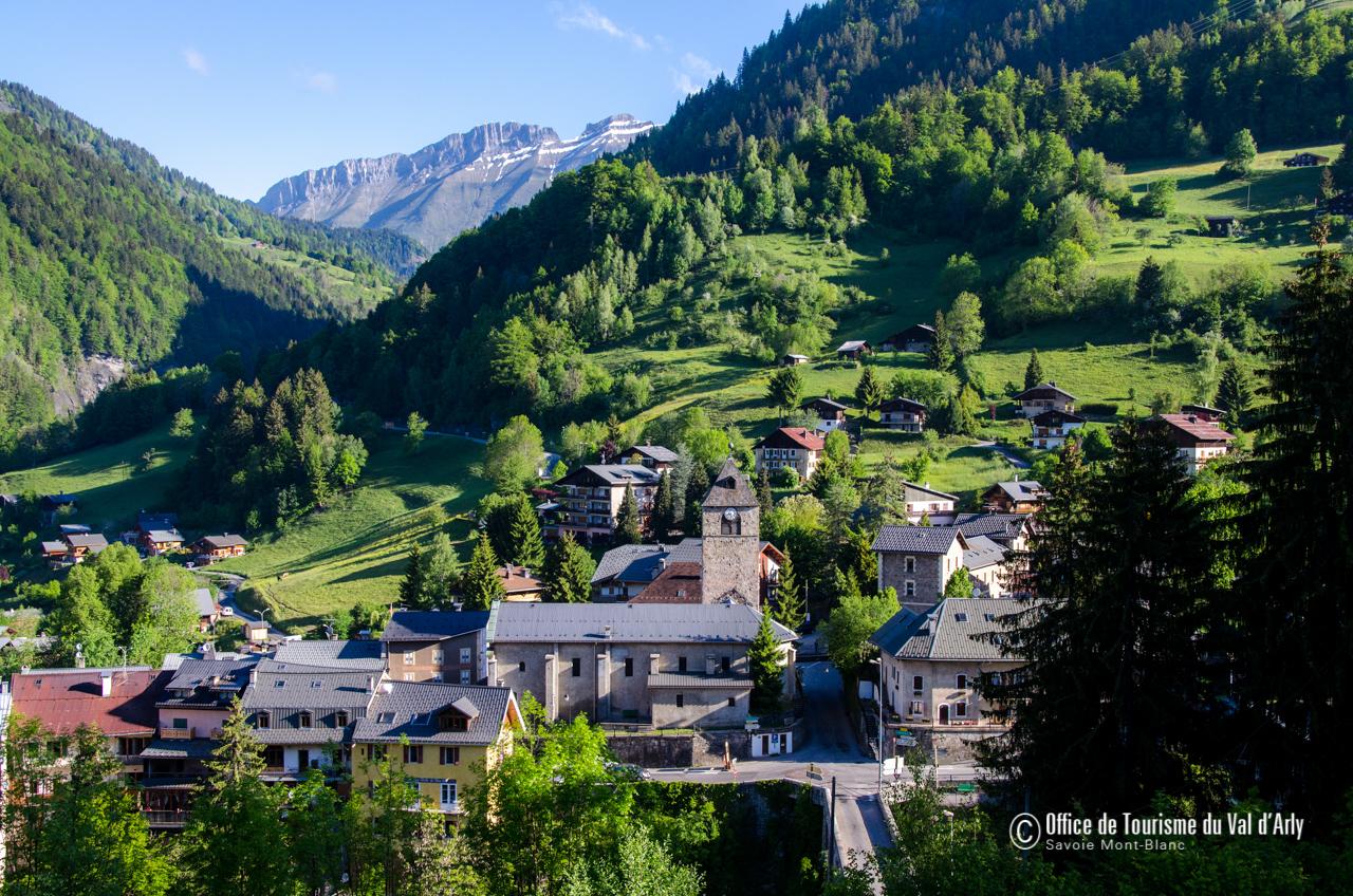 Village de Flumet © Office de Tourisme du Val d'Arly