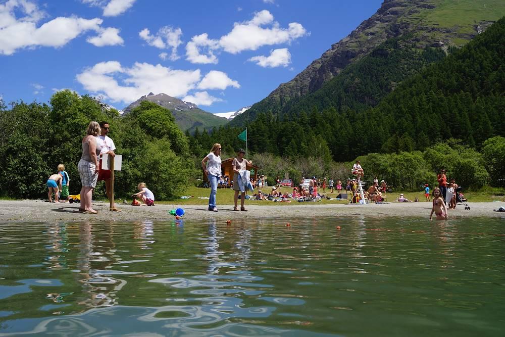 bessans-lacs-baignade-loisirs-montagne © OT Haute Maurienne Vanoise - Ingrid Pauwels-Etiévant