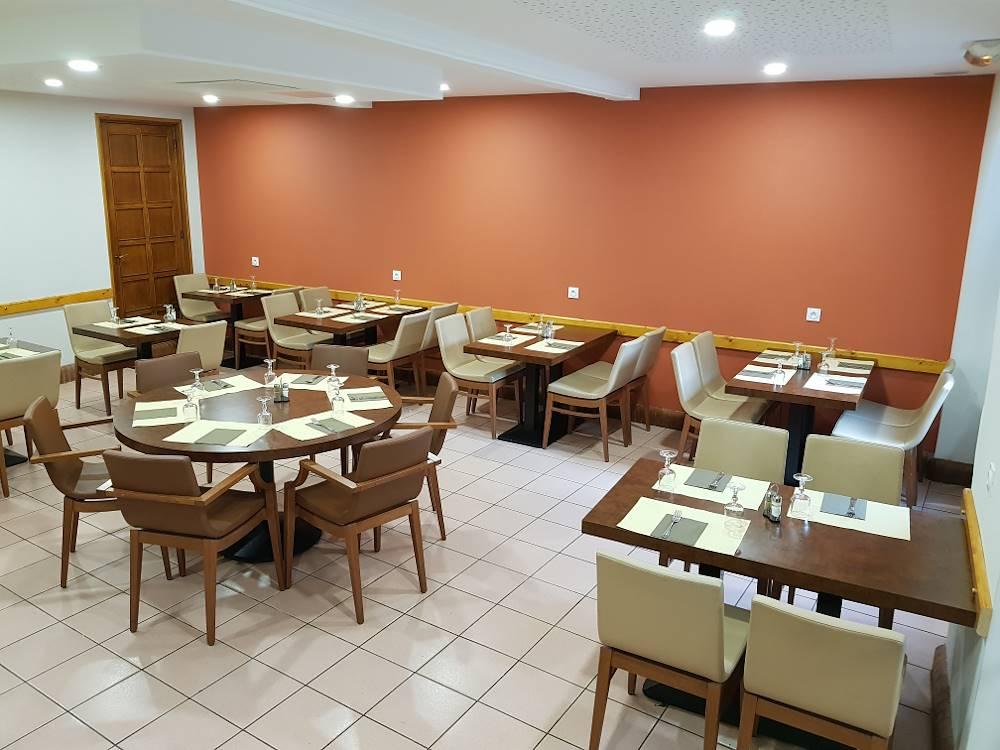 Salle de restaurant 1 © Hôtel de l'Europe