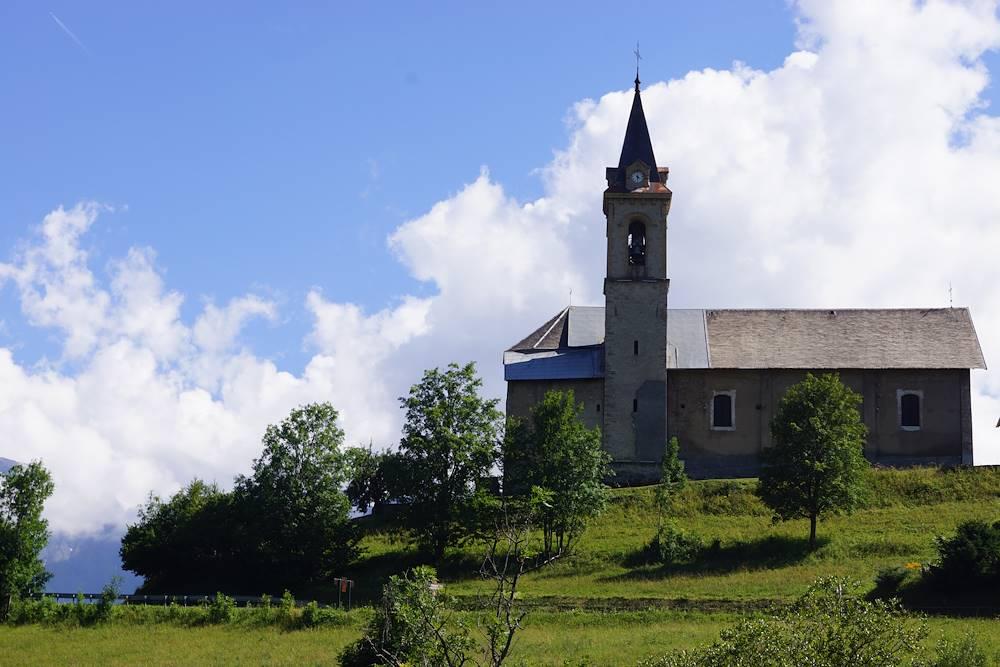 église de Fontcouverte © OT La Toussuire