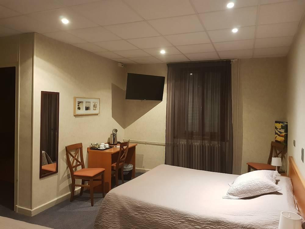 Chambre 1 © Hôtel de l'Europe