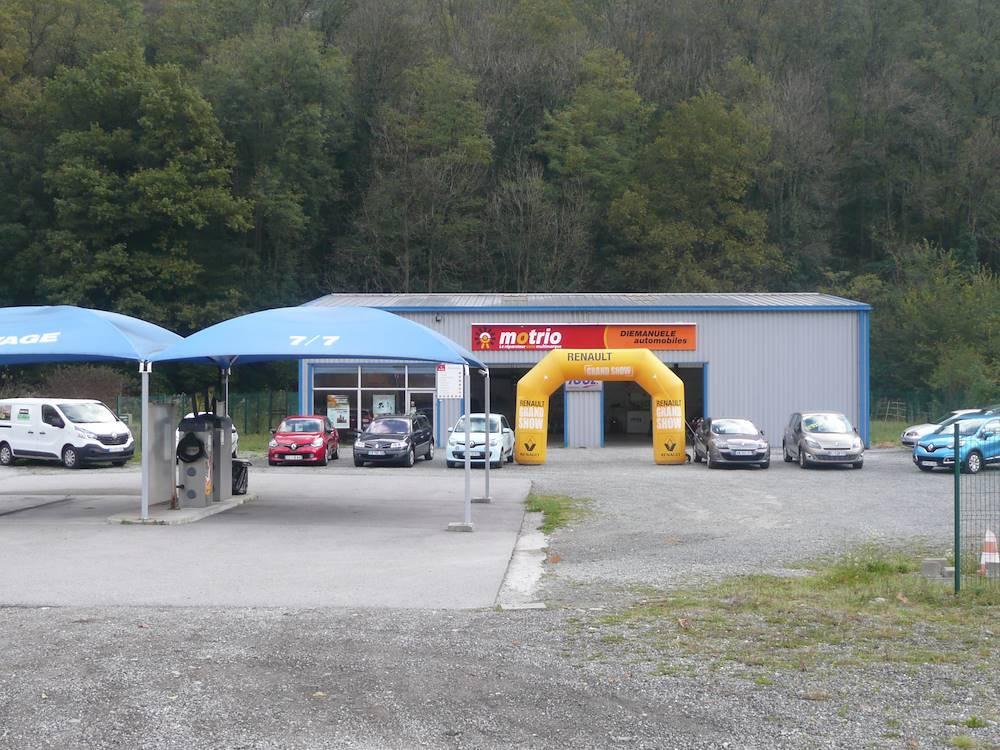 Garage DI EMANUELE Motrio © Jean DI EMANUELE
