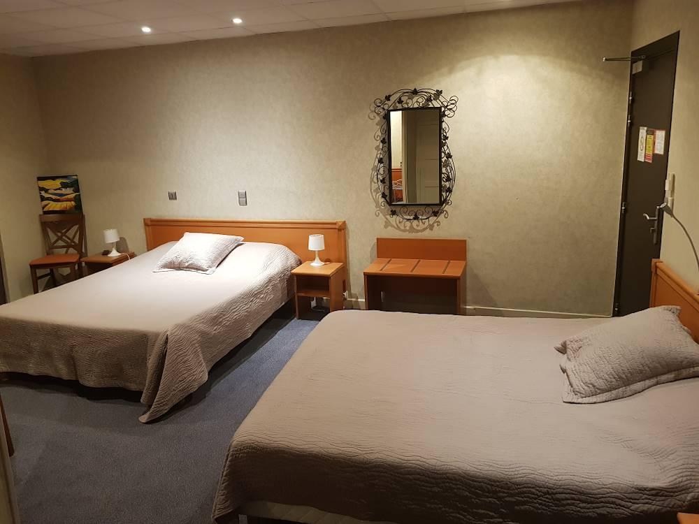 chambre quadruple © Hôtel de l'Europe